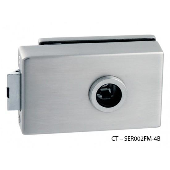 CT - 7000 Kovanie na sklenené dvere BN - Brúsená nerez