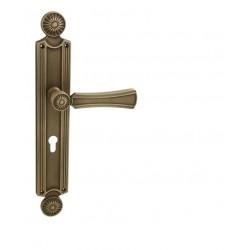 Kľučka na dvere LI - DAISY PM - Patina matná