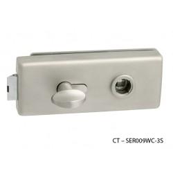 CT - 18000 Kovanie na sklenené dvere NP - Nikel perla