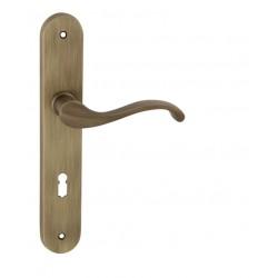 Kľučka na dvere FO - CAST OGS - Bronz česaný matný lak