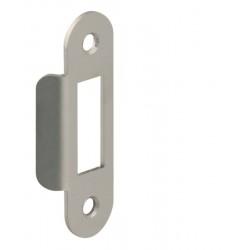 CT - INC101 - 4B Protiplech pre sklenené dvere BN - Brúsená nerez