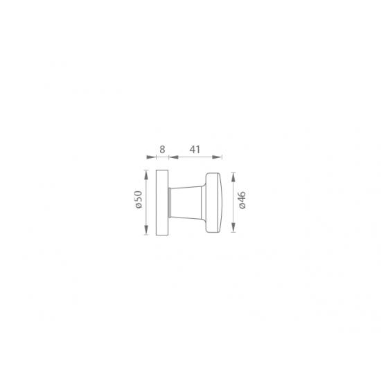 GI - Guľa 7071 - R F4 - Bronz elox