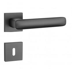Kľučka na dvere AS - STELLA - HR 7S BS - Čierna matná