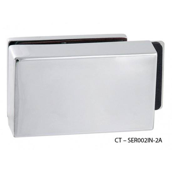 CT - 7000 Kovanie na sklenené dvere OC - Chróm lesklý