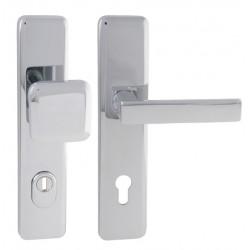 Spevnené kovanie MI - QB SECUR / CLOUD PLUS OC - Chróm lesklý