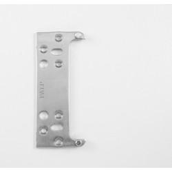 KZ - Nastaviteľná montážna podložka k závesu K2460 BP - Biely pozink
