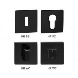 TI - ROZETA - HR 5S BS - Čierna matná