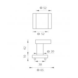MP - MADLO - HR T/OC - Titán / chróm lesklý