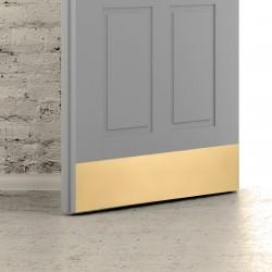 MP - Okopový plech na dvere OLV - Mosadz leštená lesklý lak