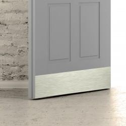 MP - Okopový plech na dvere F9 - Nerez elox