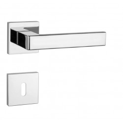 Kľučka na dvere AT - SULLA - HR 7S OC - Chróm lesklý