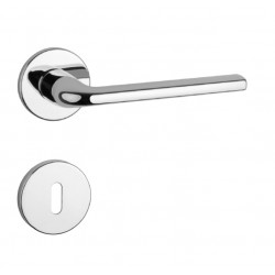 Kľučka na dvere AT - OLEANDRO - R 7S OC - Chróm lesklý