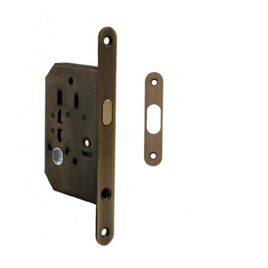 FT - Zámok na posuvné dvere 61/50 WC OGS - Bronz česaný matný lak