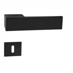 Kľučka na dvere GK - FRAME BM - Čierna matná