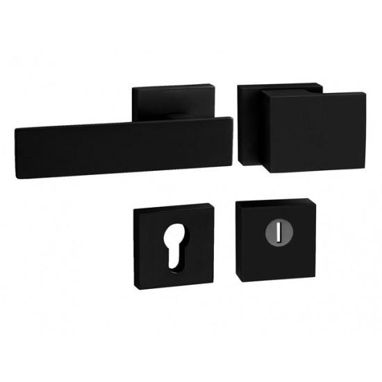 Bezpečnostné kovanie TI - CUBO/LINHA2 - HR 3230/2730 BS - Čierna matná