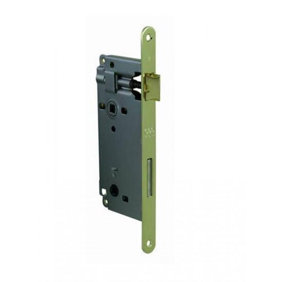 AGB - Zámok na dvere F18 - WC OLV - Mosadz leštená lesklý lak