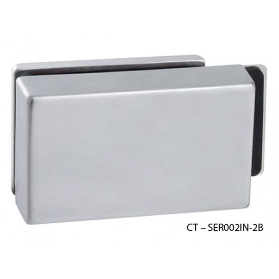 CT - 7000 Kovanie na sklenené dvere OCS - Chróm brúsený
