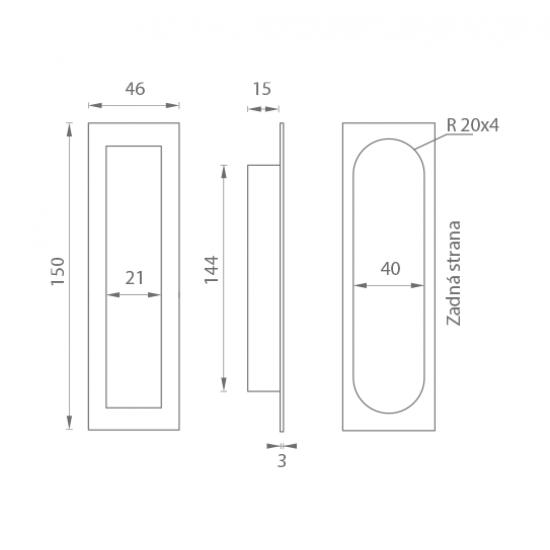 FK - 150.46.18 - DREVENÁ MUŠĽA MASÍV Javor bez povrchvej úpravy
